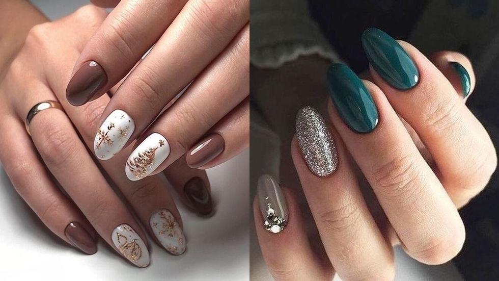 Modele de unghii de Crăciun şi Revelion 2019! Care este ...