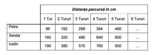 modele de teste PISA