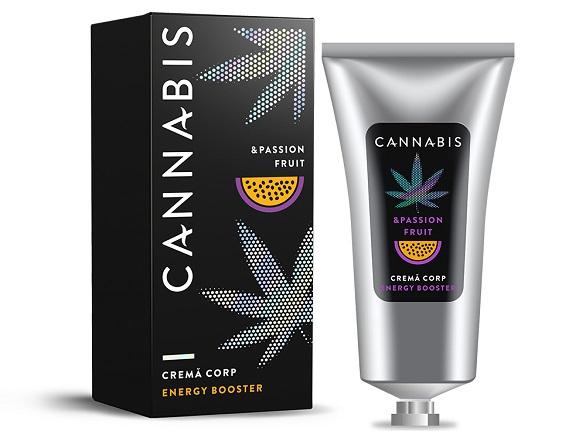 crema de corp Passion Fruit Cannabis
