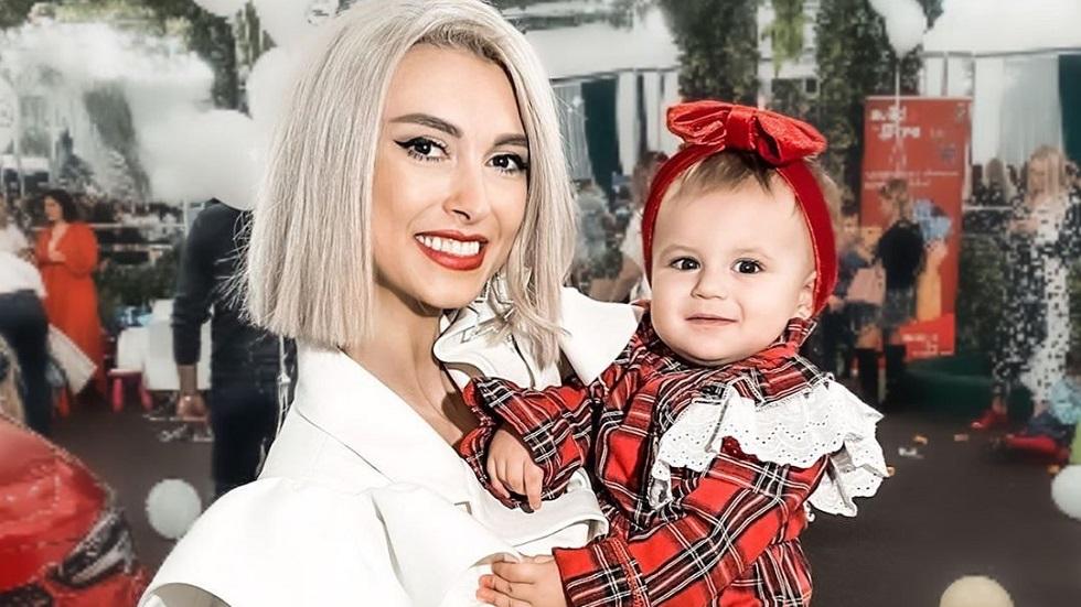 Andreea Bălan și fiica ei Clara