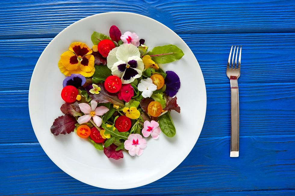 ce flori sunt comestibile