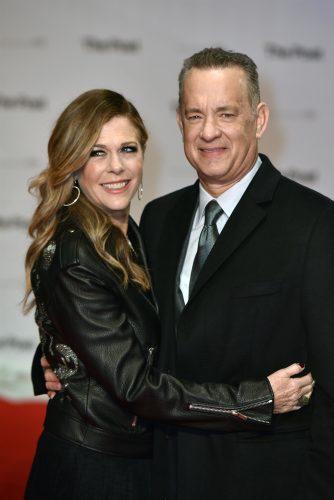 Tom Hanks și Rita Wilson