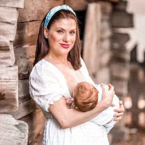 Tily Niculae și fiul ei